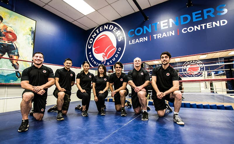 contenders boxing studio
